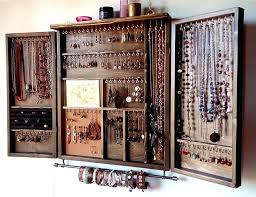 wall mounted jewelry cabinet wall mount jewelry cabinet plaza wall door mount jewelry at full