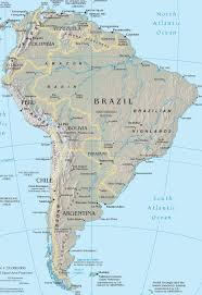 Map Of South Map Of Central And South America Roundtripticket Me