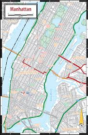 manhattan on map manhattan ny map