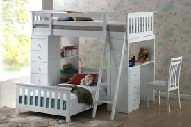 bunk bed with desk dresser and trundle first full size loft bed then desk underh loft bed design plus desk