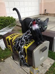 Halloween Outdoor Decorations 14 Best Halloween Mailbox Decorations Images On Pinterest