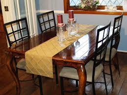 pintuck table runner
