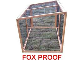 Rabbit Hutch Extension Windsor Extension Runs Fox Proof 1 4m With 3mm Wire
