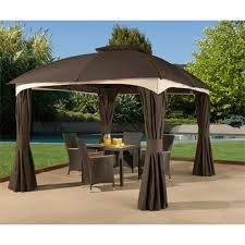 Replacement Pergola Canopy by How To Install A Gazebo Canopy Tcg