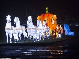 longleat house transforms with festival of light daily mail
