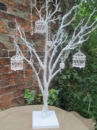 wedding wish trees wedding wishing tree vintage manzanita white 110 cms birdcage