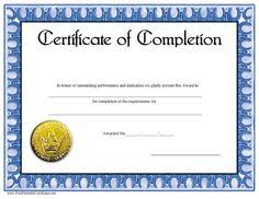 this printable certificate of excellence has a blue and black