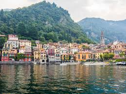 a day of eating in varenna lake como