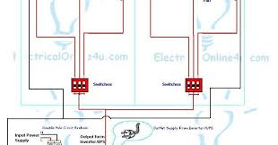 how to install ups u0026 inverter wiring in 2 rooms electrical