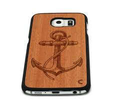 anchor wood galaxy s6 anchor craftedcover