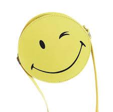 womail women funny emoji shoulder bag satchel cross body for