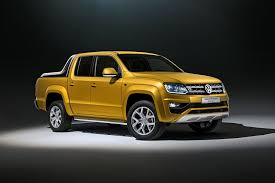 vw truck volkswagen to debut two special amarok pickups in frankfurt