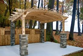 How To Build A Wooden Pergola by Build Pergola Crafts Home