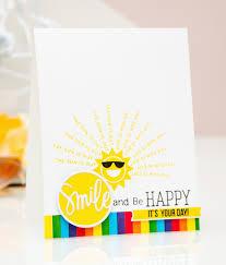 simon says st june card kit smile be happy yana smakula