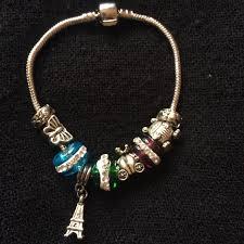 breloque tour eiffel histoire du bracelet de charm bracelets de charm et shamballa à
