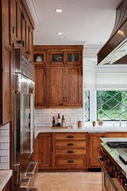 Kitchen With Brown Cabinets 11 Stunning Farmhouse Kitchens That Will Make You Want Wood