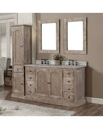 60 Bathroom Vanity Double Sink White by Great Deal On Infurniture Rustic Style Quartz White Marble Top 60