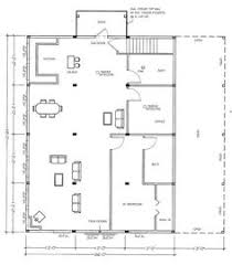 Pole Building Floor Plans Steel Buildings With Living Quarters Floor Plans Barn Layout