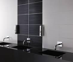 Black And White Bathroom Tile Designs Black Tiles Floor Wall Topps Warm Bathroom Tile And 16