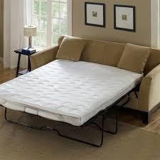 Microfiber Sleeper Sofa Light Brown Color Microfiber Sleeper Sofa With White Foam Mattress