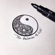 Ying Yang Tattoo Ideas Collection Of 25 Yin Yang Tattoo