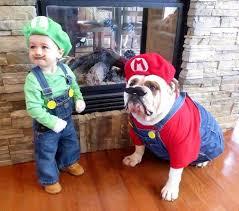 Mario Luigi Halloween Costume Cute Pet Costumes Halloween Today