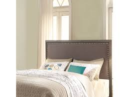 Bedrooms Direct Furniture by Fashion Bed Group Bedroom Normandy Metal Headboard With Steel Gray