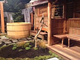 Japanese Bathroom Ideas Astonishing Japanese Outdoor Bathroom Traditional Wood Bathtub And