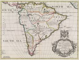 colonial map colonial south america osher map library