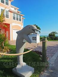 Fort Myers Beach Houses For Sale Cute Dolphin Mailbox Fort Myers Beach Fl Mailboxes Pinterest