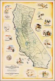 state map of california map california pencil and in color map california