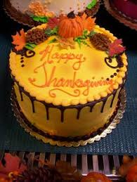 thanksgiving cake like the side stripes easy baking