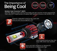 xe lexus bi n gi amazon com opt7 fluxbeam led headlight kit w clear arc beam