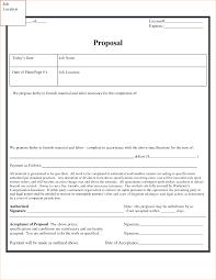 Estimate Proposal Template by Construction Job Proposal Template Thebridgesummit Co