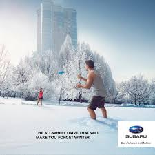 subaru winter quebec subaru dealers u0027 association print advert by agence rinaldi