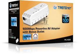 tpl 401e2k trendnet tpl 402e 500 mbps powerline av adapter with