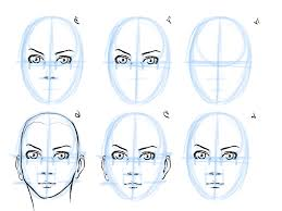 sketching a face step by step easy sketches of faces step step