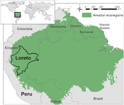 Amazon River World Map by Potential Of Best Practice To Reduce Impacts From Oil And Gas