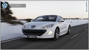 peugeot rcz 2010 peugeot rcz the art of captures