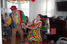 clown magician party host professional kids entertainment best kids party services in new york