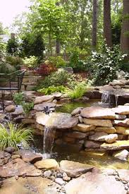 Backyard Waterfalls Ideas with 35 Dreamy Garden With Backyard Waterfall Ideas Gardening Water
