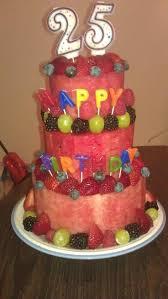 Watermelon Cake Decorating Ideas 28 Best Fruit Cakes Images On Pinterest Fruit Cakes Birthday