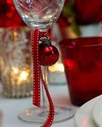 decorazioni bicchieri decorazioni per tavola di natale foto 26 41 design mag