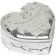 silver anniversary gifts silver wedding anniversary gifts