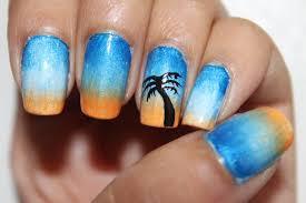 coconut tree nail art tree nailsart