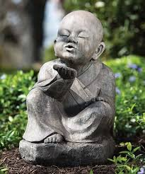 this wishing buddha garden statue is zulilyfinds