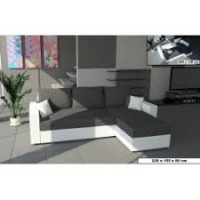 canap d angle convertible simili cuir canapé d angle convertible en lit avec lit gigogne et coffre de