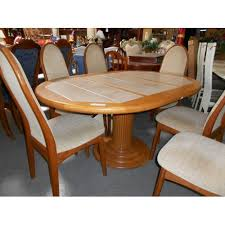 Granite Top Dining Table Dining Room Furniture Tile Dining Room Table Interior Design