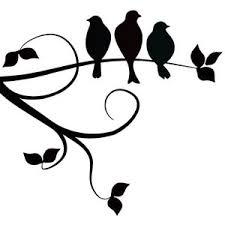 three birds on a branch i the simplicity of this design but i