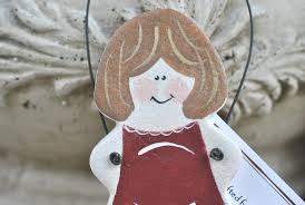baby shower expectant parents gift salt dough ornament cookie